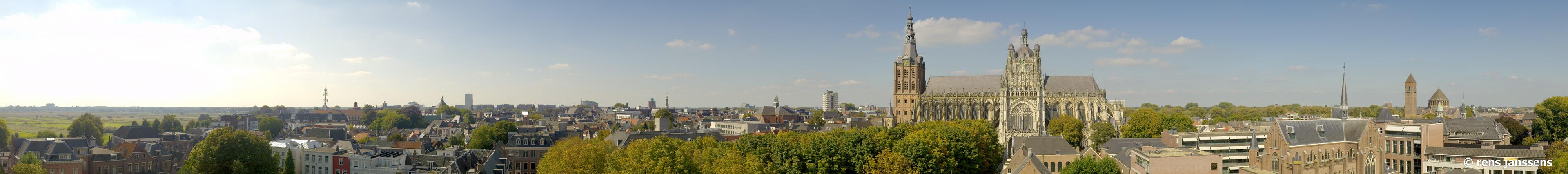 Skyline van Den Bosch