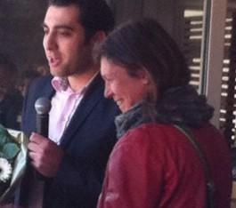 Bilal Kaya en Marlies Verbrugh onderwijsvrijwilliger van het jaar 2015